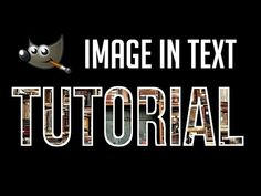 Put Image Inside of Text Shape In Under 3 Minutes