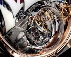 Zenith Christophe Colombe Grand Voyage Caseback Closeup