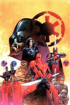 Crimson Empire Handbook Dave Dorman's Star Wars Legacy | Roqoo Depot
