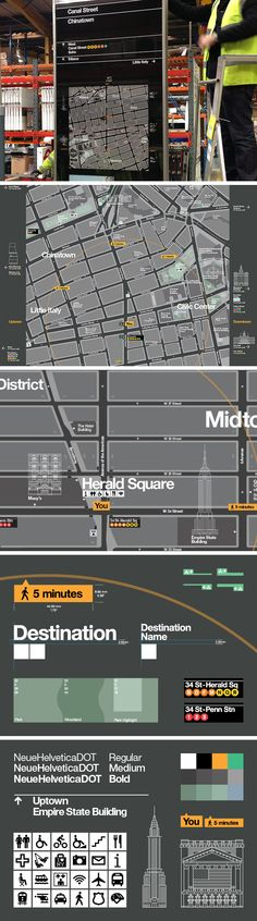In May 2013, the New York City Department of Transportation (NYC DOT) unveiled the first phase of its citywide wayfinding system.  The project, designed by PentaCityGroup (PCG), is a benchmark for other global cities. In its first phase, the map-based information system takes to New York City streets, both as a network of street signs, guiding pedestrians between and around neighborhoods, and at every CitiBike station, helping riders using New York's new bike share program to plan their…