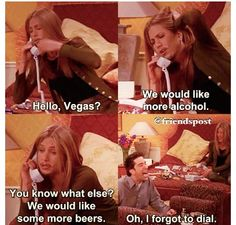 I can only apologize for probably doing this when we go to Vegas...haha I am Rachel, Rachel is me.
