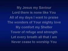 Shout To The Lord by Alleluia Worship Band....♥ Another 'Praise and Worship' personal favorite of mine...♥