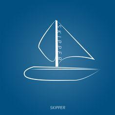 Skipper - Riproduzione logo.