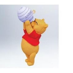 2011 Hoping for Honey Hallmark Ornament Disney Winnie the Pooh Hunny  Buy Online Now click on picture to go to Amazon - I Love Christmas Ornaments