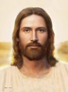 A beautiful picture of Jesus Christ the Messiah