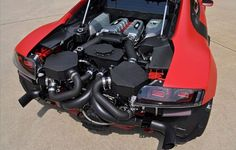 Twin Turbo Audi R8 by Underground Racing. 1100+ HP.