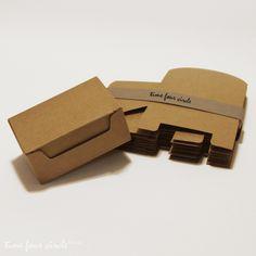 Schachteln & Boxen - Set of 50, Kraft Gift Box, Favor, Gift, Party - ein Designerstück von TOOOO bei DaWanda