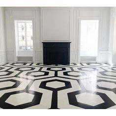 LOVE these floors! Would be shop statement. DIY Retail Shop floor project | display design