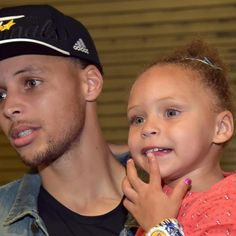 Watch: Riley Curry's NBA Finals Game 1 victory dance