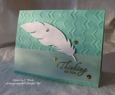 Thinking of you by Weekend Warrior - Cards and Paper Crafts at Splitcoaststampers
