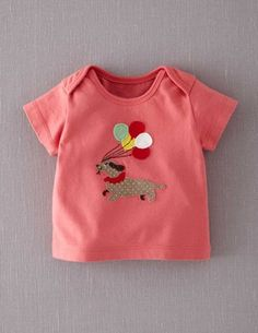 I've spotted this @BodenClothing Party Animals T-shirt Rose/Sausage Dog