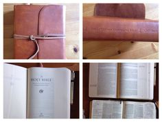 ESV journaling bible - It's worth every cent. It's made so well and it's exciting to sit down to read it and fill it. I look forward to passing it on to my children someday. A keepsake for sure.