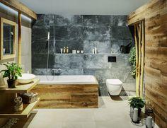 Boho Bathroom, Bathroom Design Small, Bathroom Interior Design, Dark Bathrooms, Dream Bathrooms, Cottage Kitchens, Apartment Design, Bathroom Inspiration, Wooden Diy