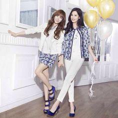 150917 MIXXO 2015 SPRING LOOK BOOK SNSD TTS Tiffany Seohyun