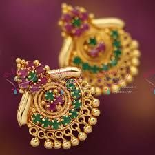 Image result for earrings gold for daily wear