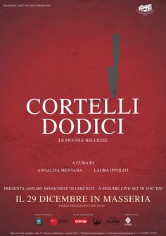 Cortelli Dodici, martedì 29 dicembre 2015 rassegna di #cortometraggi alla Masseria Sant'Agapito di #Lucera (Fg)