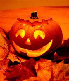 Halloween Pumpkin Carving Interior