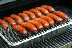 For the best flavor, don't depend on just your seasonings. Your grill will help boost the flavor. Brats Recipes, Best Bbq, Apple Butter, Smoking Meat, Sauerkraut, Bbq Grill, Outdoor Cooking, Grilling Recipes, Good Food
