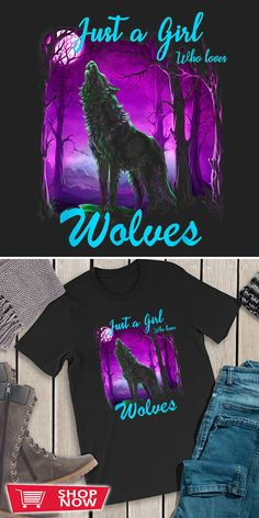 You can click the link to get yours. Just a Girl Who Loves wolves Wolf Shirt for Girls Women. Wolf Spirit tshirt for Wolf Lovers and Viking Warriors. We brings you the best Tshirts with satisfaction. Spirit Clothing, Wolf Stuff, Wolf T Shirt, Wolf Love, Wolf Spirit, Viking Warrior, Wolfhound, Love Gifts, Wolves