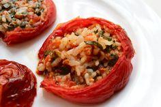 baked & stuffed tomatoes