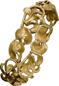 ALBION ART Antique Jewelry -  Art Nouveau Gold Bracelet, c.1900, ALBION ART Collection | JV