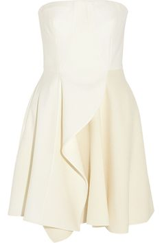 Stella McCartney|Marcy stretch-wool and wool-blend crepe mini dress|NET-A-PORTER.COM