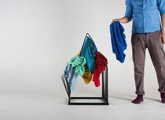 This Clothes Rack Turns Your Mess Into Art   Akash Eskafi