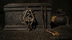 Dragonborn Skyrim Pendant...Syd would love this
