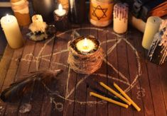 Candle Magic, Candle Spells, Wicca, Magick, Witchcraft Tumblr, Witchcraft Spells, African Voodoo, Break Up Spells, Ritual Magic