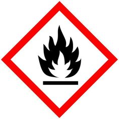 GHS Pictogram -- Flame