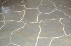 faux painting concrete.  My front porch needs this!  I would either do a cobblestone or flagstone pattern.
