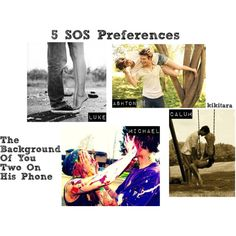 """5 SOS Preferences"" by kikitara on Polyvore"