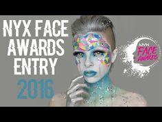 NYX Face Awards Entry 2016   Colour Creep - YouTube