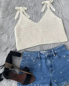 Most popular and Amazing Crochet Top Pattern Ideas of 2019 and 2020 - Page 48 of 55 - lasdiest.c Crochet Summer May Tank Top (Free Pattern) - KnitcroAddict Crochet Tank Tops, Crochet Summer Tops, Crochet Shirt, Knitted Tank Top, Crochet Top Outfit, Cute Summer Tops, Débardeurs Au Crochet, Cotton Crochet, Crochet Bikini