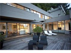 Mid-Century Modern: Arthur Erickson Fraser Valley, Real Estate Services, Ideas Para, Vancouver, Mid-century Modern, Mid Century, Farmhouse, Homes, Patio