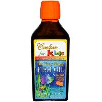 Carlson Labs, The Very Finest Fish Oil, For Kids, Orange, 6.7 fl oz (200 ml)
