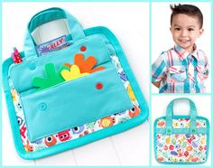 Kid's Valentines ( More) Carry Case | Sew4Home