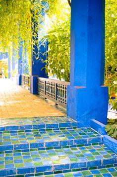Le jardin Majorelle, Marrakech - Morocco