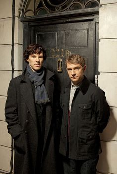 Sherlock.  Love Benedict Cumberbatch and Martin Freeman. My new favorite show!