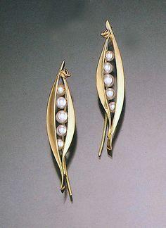 Ben Dyer | gold earrings