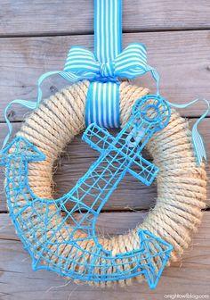 Anchor's Away Wreath