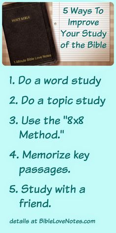 """5 Ideas to enrich your Bible Study. Details and helpful links included in this devotion about Bible study methods. Plus, a special bonus e-booklet with free subscription: Days to a More Meaningful Quiet Time"""" Bible Study Tips, Bible Study Journal, Scripture Study, Bible Lessons, Scripture Journal, Bible Prayers, Bible Scriptures, Bible Quotes, Quotes Quotes"""
