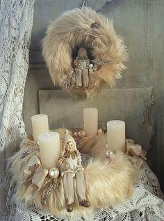 Christmas Shows, Christmas Love, All Things Christmas, Xmas, Christmas Advent Wreath, Christmas Tree Napkins, Christmas Crafts, Christmas Centerpieces, Christmas Decorations