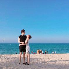 Kpop Couples, Real Couples, Cute Couples, Cute Couple Art, Beautiful Couple, Boy And Girl Friendship, Couple Ulzzang, Boys Girl Friend, Dear Boyfriend