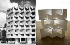 https://flic.kr/p/ak8T23 | modern facade | origamic interpretation of a modernist facade section