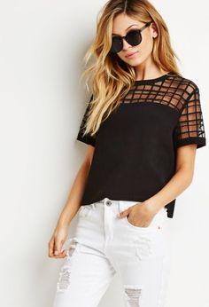 Forever21 does window pane right.
