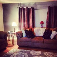 Girlie glam apartment living room