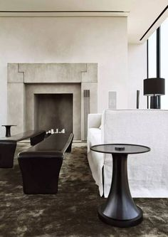 Beauty Inheres Not In The Triviality Of Abundance But In Delicacy Rarity And Restraint Living Room Of Ian And John Hoskins  C B Luxury Interior Design