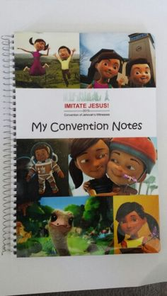 Convention notebook for kids!  Featuring this year's theme and our favorite friends,  Caleb and Sophia!