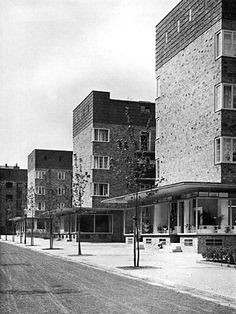Gustav Oelsner, Apartment Houses, Hamburg 1926-27